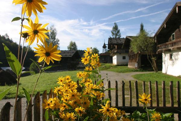 Blühende Gärten im Museumsdorf Bayerischer Wald, Tittling