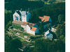 Blick auf Schloss Englburg bei Tittling im Bayerischen Wald