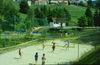 Beachvolleyballplatz im Berger Bad