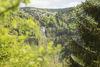 Ausblick auf Wasserfall Grillplatz Hasbach Aftersteg