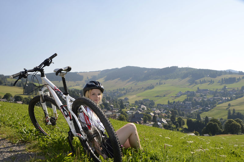 Mountainbiking in der Bergwelt Todtnau