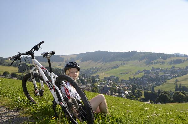 Mountainbiking in der Bergwelt Todtnau