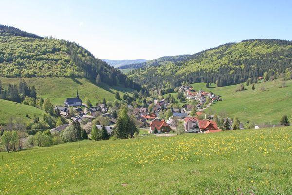 Blick auf Muggenbrunn