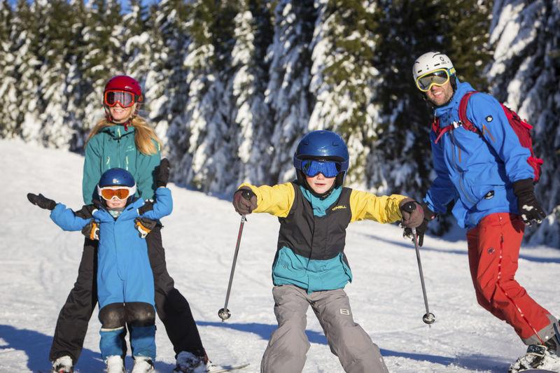 Wintersport mit der Familie