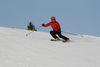 Skifahrer in der Bergwelt Todtnau