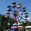 Riesenrad im Churpfalzpark Loifling bei Cham