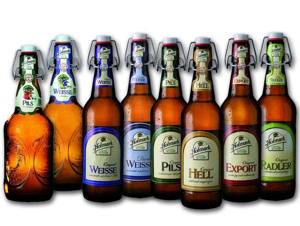 Biere der Hofmark Brauerei in Loifling bei Cham