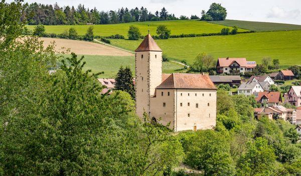 Die Burg Trausnitz im Pfreimdtal