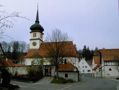 St. Blasius Kirche Mägerkingen