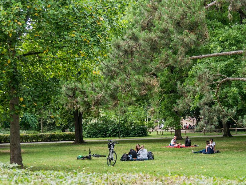 Pause im Alten Botanischen Garten