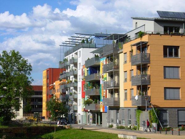 Französisches Viertel in Tübingen