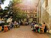 Sommerliche Gastronomie am Jakobusplatz