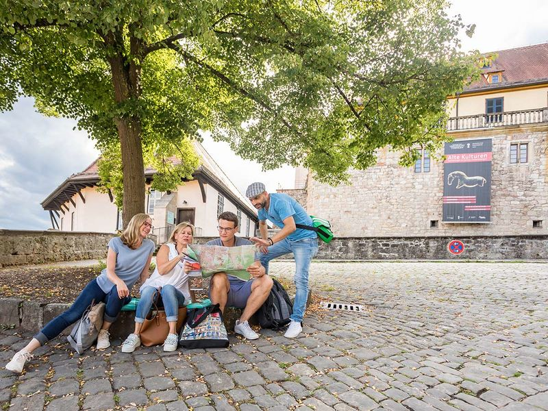 Museumsbesuch im Schloss Hohentübingen
