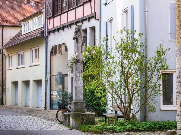 Frontansicht des Ugge-Bärtle-Hauses
