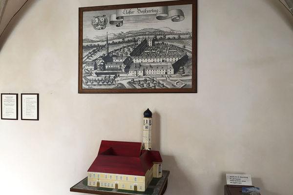 Das Kloster damals und heute