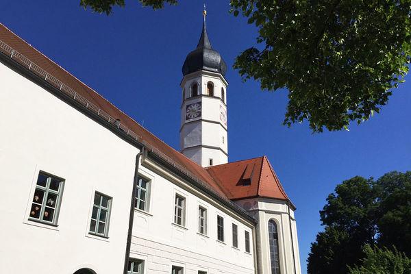 Ehemaliges Kloster und katholische Pfarrkirche St. Johann Baptist