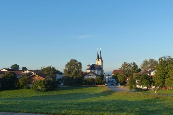 Tuntenhausen mit ihrer Wallfahrtsbasilika