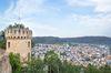 Honberg Zinnenturm mit Aussicht auf Tuttlingen
