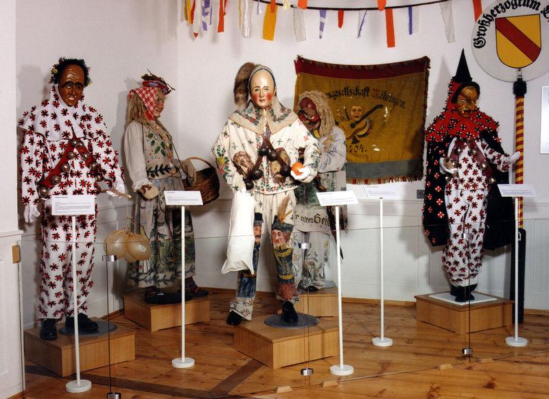 Museum im Rathaus Möhringen - Fasnet
