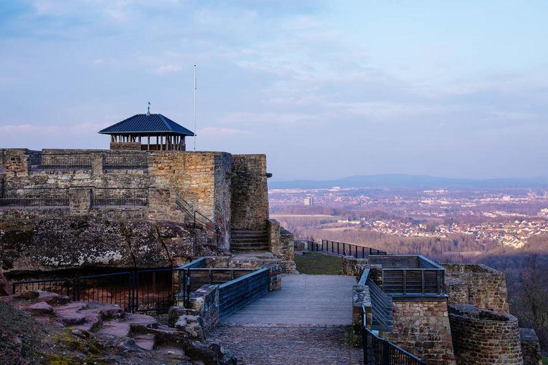 Ausblick von der Teufelsburg aus
