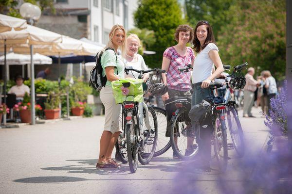 Fahrradverleih der Tourist-Information in Überlingen am Bodensee