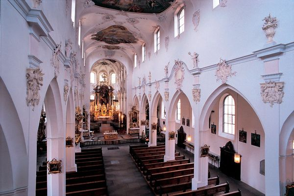 Franziskanerkirche in Überlingen am Bodensee