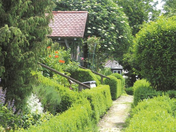 Menzingerhausgärten in Überlingen am Bodensee