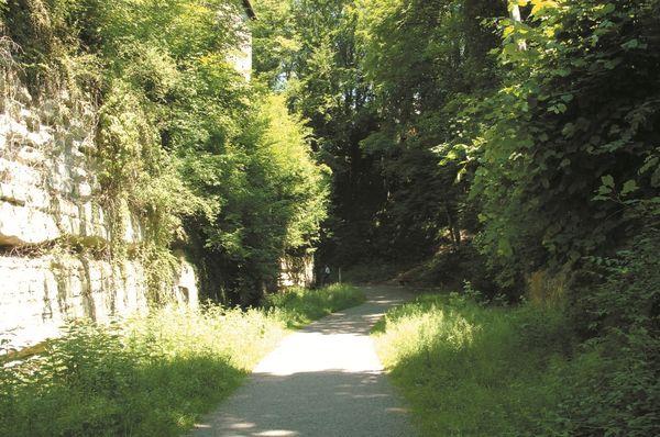 Stadtgraben in Überlingen am Bodensee