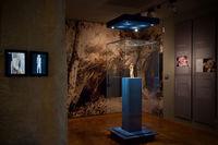 Ausstellungsbereich des Ulmer Löwenmenschen
