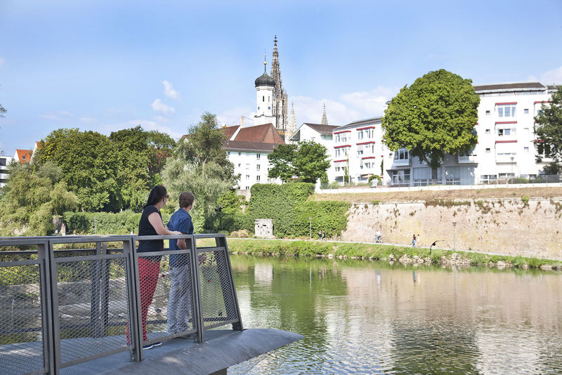 Neu-Ulm und Donau