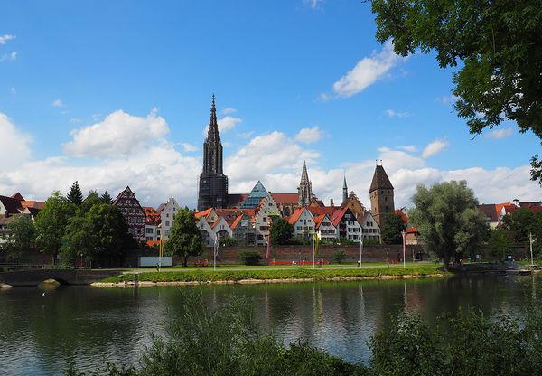 Ulmer Donaupanorama Standort Neu-Ulmer Ufer