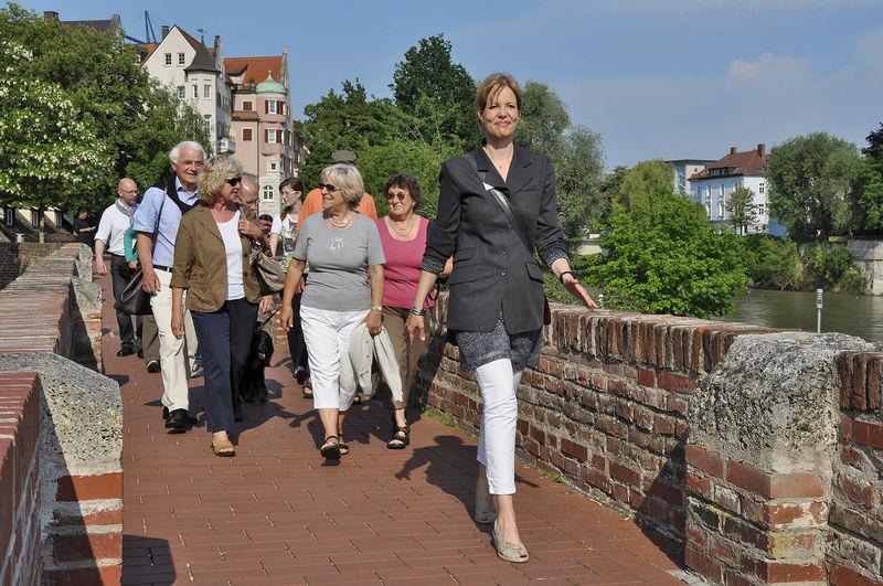 Stadtführung auf der Ulmer Stadtmauer