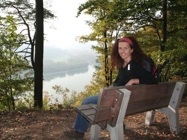 Herrlicher Blick vom Ebenstein bei Untergriesbach ins Donautal