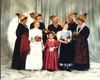 Prächtige Kostüme bei den Goldhaubenfrauen