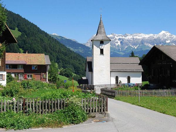 Reformierte Kirche in Valzeina