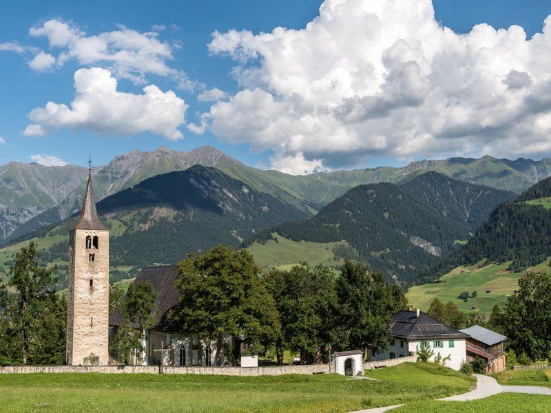 Kirche Sogn Vintschegn, Pleif