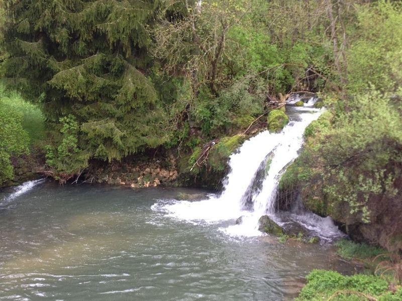 Wasserfall in Veringendorf