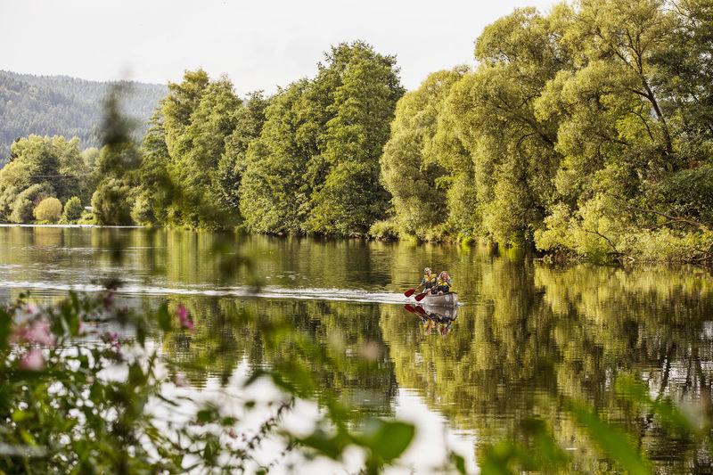 Kanutour von Viechtach zum Blaibacher See