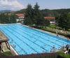 Blick auf das Schwimmerbecken im Freibad Viechtach