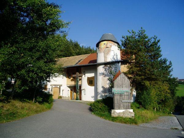 Gläserne Scheune in Rauhbühl bei Viechtach im ArberLand Bayerischer Wald