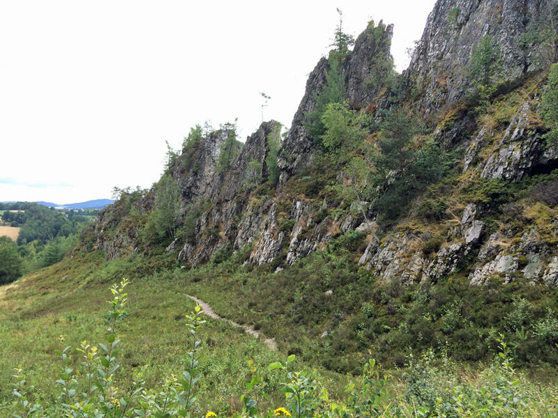 Der Große Pfahl bei Viechtach im Naturschutzgebiet