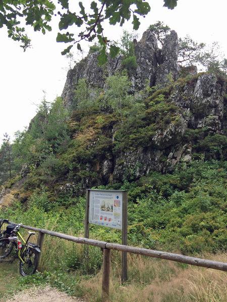 Der Große Pfahl bei Viechtach ist als Bayerns Geotop Nr. 1 ausgezeichnet