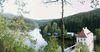 Blick auf den Höllensteinsee bei Viechtach