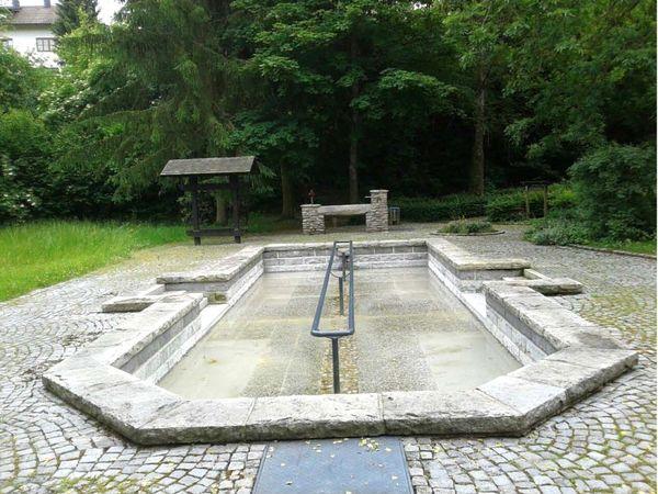 Kneipp-Anlage im Dr.-Schellerer-Park in der Stadt Viechtach