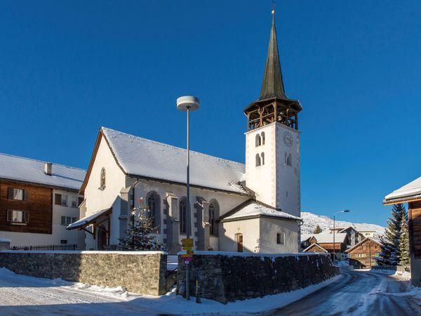 Kirche Sogn Flurin, Winter