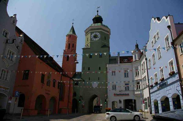 Heimatmuseum mit Stadtturm