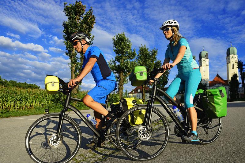 Tour auf dem Apfel-Radl-Weg und dem Wolfach-Radweg an der Donau im Passauer Land