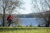Wunderschöne Landschaften zeigen sich am Vilstal-Radweg