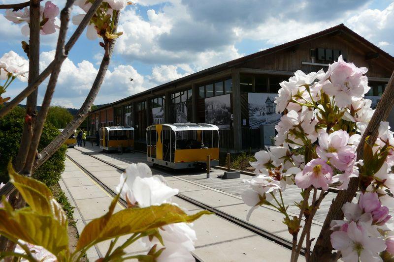 Start- und Zielpunkt ist der Draisinenbahnhof in Wald-Michelbach