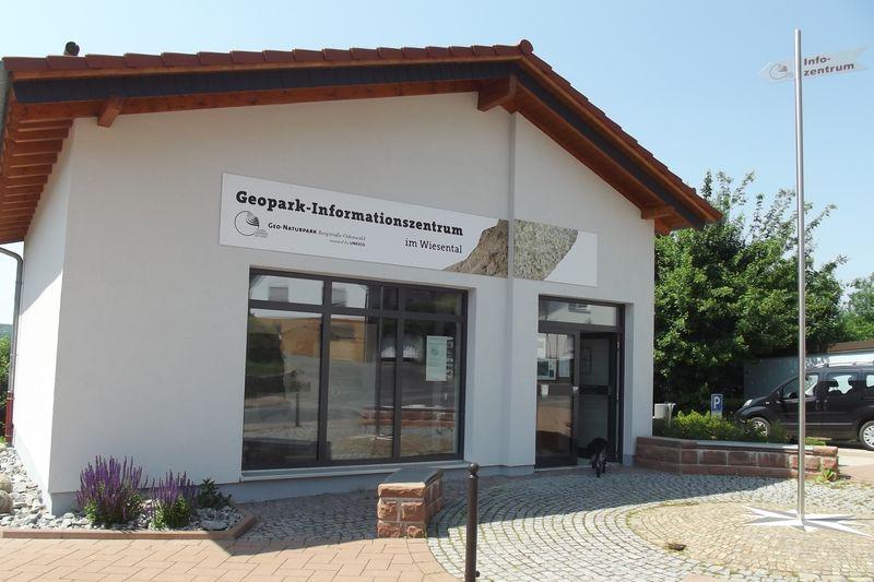 Geopark-Infozentraum in Aschbach